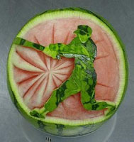 watermelon baseball