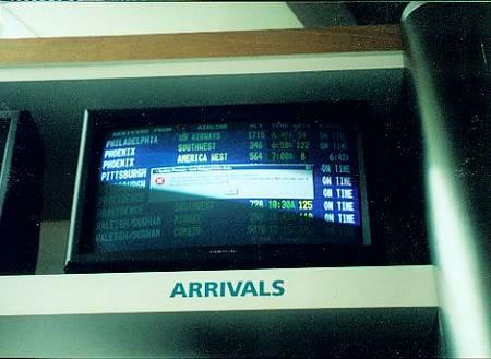 airport error