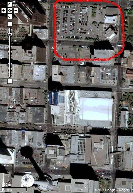 Googel map EnCana Building site2