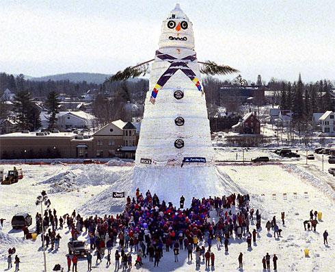 tallest snowman