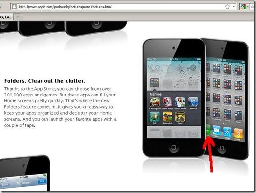 ipod - phone app