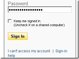 password