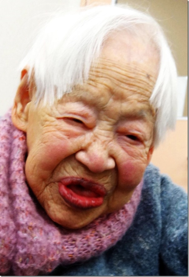 Misao Okawa 114 years old woman- oldest woman-living