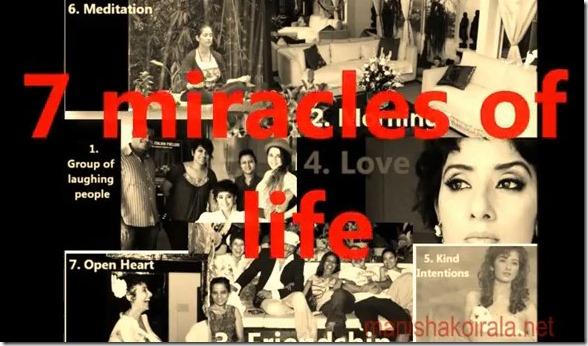7 miracles of life
