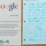 A Google worker's daughter earned dad a week-long-vacation