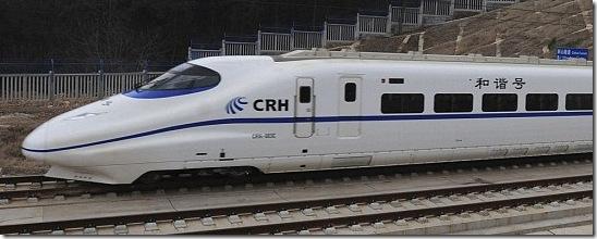 fastest train china-train